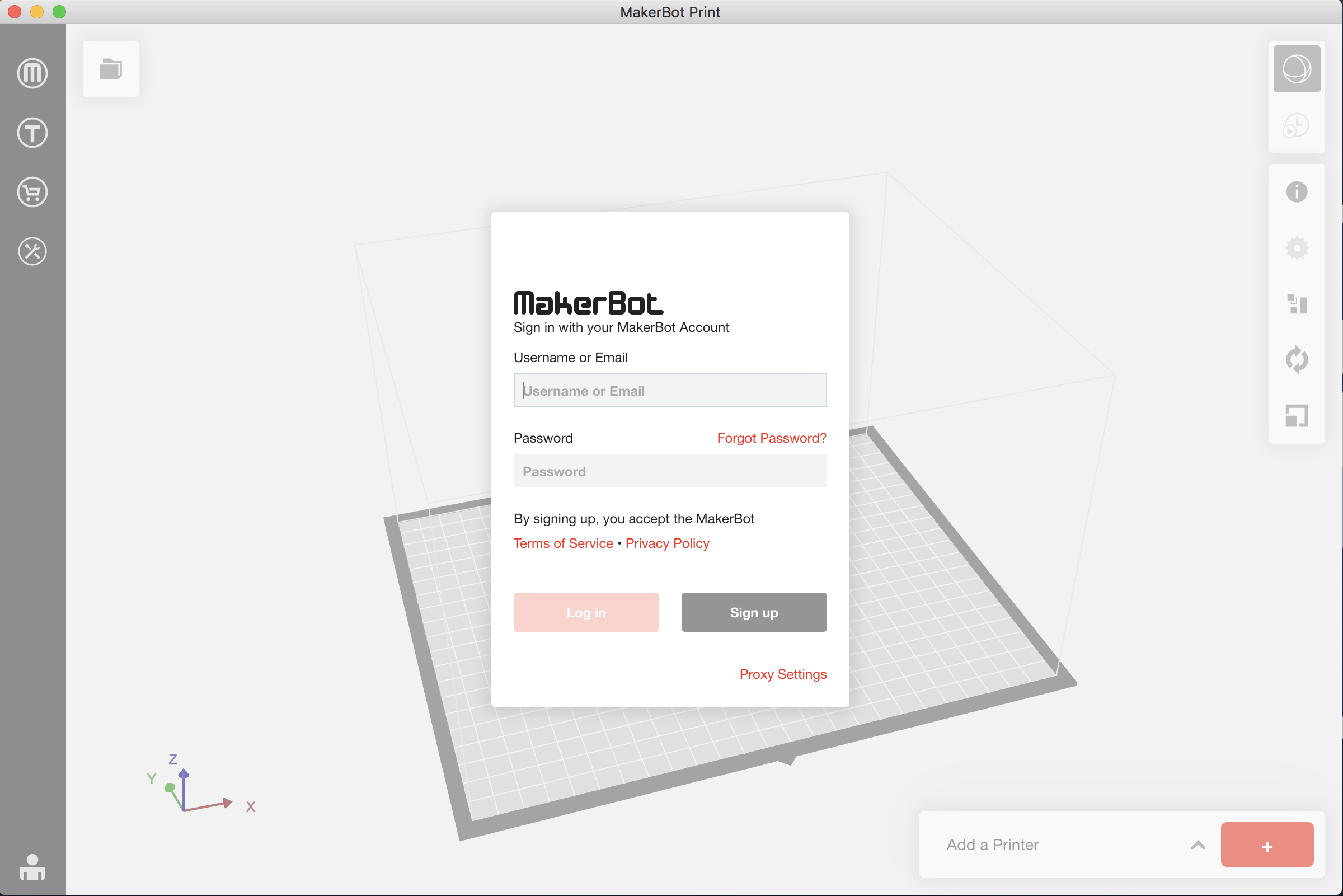 Creating a  makerbot file with MakerBot Print Software | Maker Commons